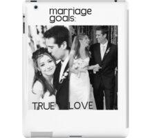 Alyson Hannigan & Alexis Denisof Marriage Goals iPad Case/Skin