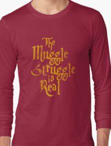 Harry Potter - Muggle Struggle Long Sleeve T-Shirt