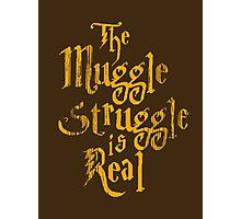 Harry Potter - Muggle Struggle Photographic Print