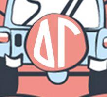 Delta Gamma is Better Sticker