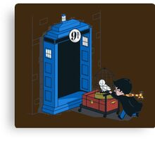 Harry Potter - Tardis Canvas Print