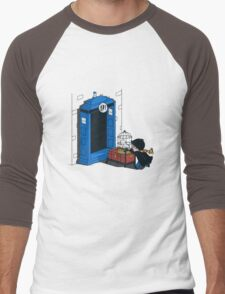 Harry Potter - Tardis Men's Baseball ¾ T-Shirt