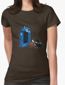 Harry Potter - Tardis Womens Fitted T-Shirt
