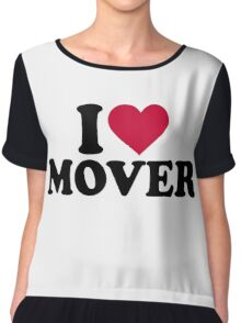 I love mover Chiffon Top