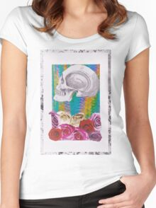 Its All in the Head  Women's Fitted Scoop T-Shirt
