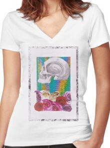 Its All in the Head  Women's Fitted V-Neck T-Shirt