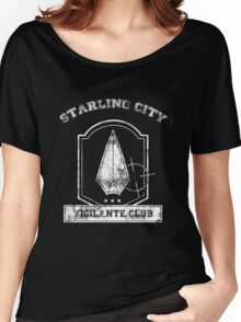 Starling City Vigilante Club Women's Relaxed Fit T-Shirt
