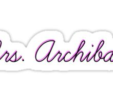 Mrs. Archibald Sticker