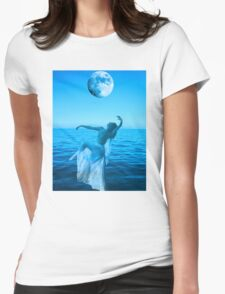 Moon Dance Womens Fitted T-Shirt