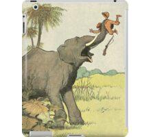 Elephant - French Alphabet Animals iPad Case/Skin