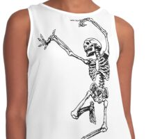 Dancing Skeleton Contrast Tank
