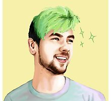 Jacksepticeye Photographic Print