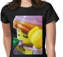 The Lego Princess and the Frog Womens Fitted T-Shirt