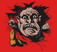Angry Man Inside for Anger Management Humor! One Piece - Long Sleeve