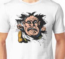 Angry Man Inside for Anger Management Humor! Unisex T-Shirt