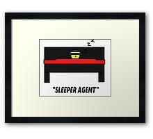 Sleeper Agent Framed Print