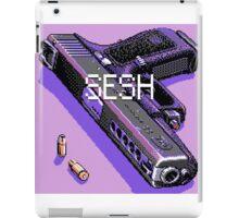 pistol and bullets iPad Case/Skin