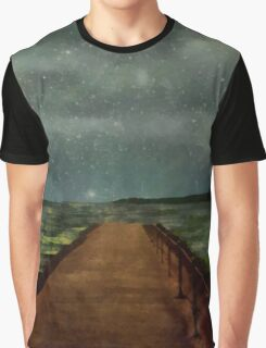 Walking into the Stars Graphic T-Shirt