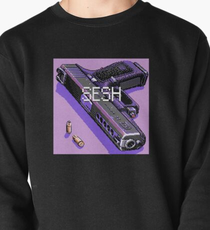 pistol and bullets Pullover