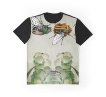 BEETLES AND FLIES Graphic T-Shirt