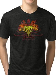 JBAWM Red Flower Tri-blend T-Shirt