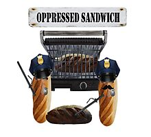 Oppressed Sandwich Photographic Print