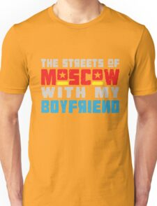 The Hungry Hearts - Laika [Streets of Moscow with my Boyfriend] Unisex T-Shirt