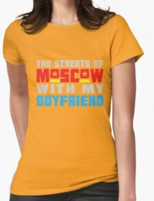 The Hungry Hearts - Laika [Streets of Moscow with my Boyfriend] Womens Fitted T-Shirt