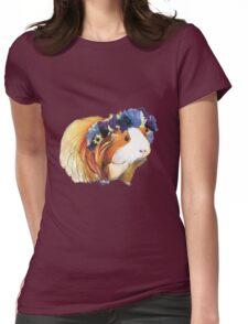 Sittin' Piggy Womens Fitted T-Shirt