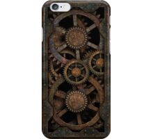 Infernal Steampunk Gears iPhone Case/Skin