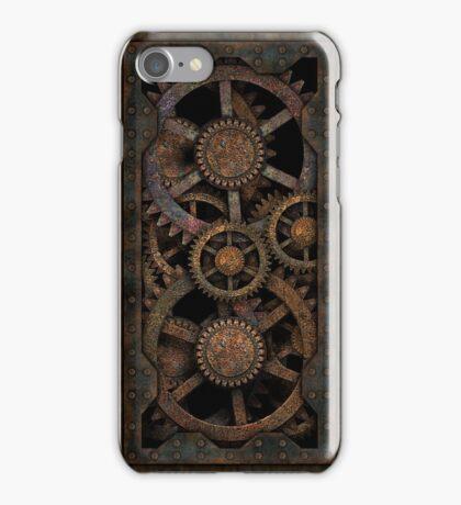 Infernal Steampunk Gears Vintage Steampunk phone cases iPhone Case/Skin