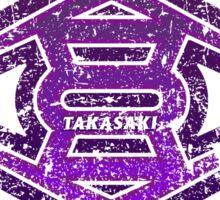Takasaki - Gunma - Prefecture of Japan - Distressed Sticker