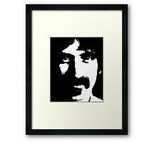 Happy Frank Zappa 1973 Framed Print