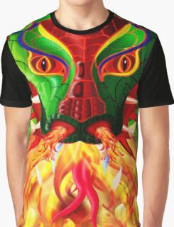 DRAGON FIRE Graphic T-Shirt