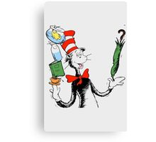 Dr. Seuss Canvas Print