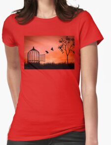 released Womens Fitted T-Shirt