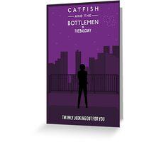 Catfish And The Bottlemen Movie Stylised Greeting Card