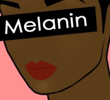 Melanin Poppin' Sticker