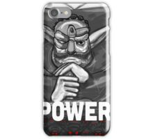 Baron Praxis: Power iPhone Case/Skin