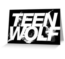 Teen Wolf Greeting Card