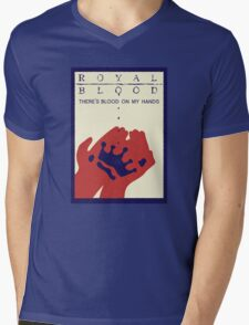 Royal Blood Movie Stylised Mens V-Neck T-Shirt