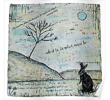 Watership Down Encaustic Poster