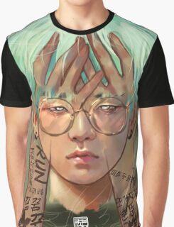 Glasses Yoongi Graphic T-Shirt