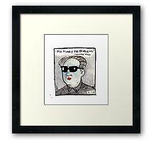 Mo' money Framed Print