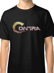 Contra Vintage Pixels Classic T-Shirt