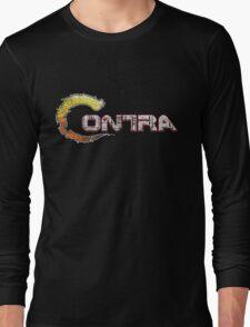 Contra Vintage Pixels Long Sleeve T-Shirt