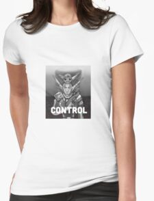 Erol: Control Womens Fitted T-Shirt