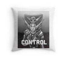 Erol: Control Throw Pillow