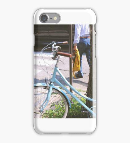 Bike in Quebec, Canada iPhone Case/Skin