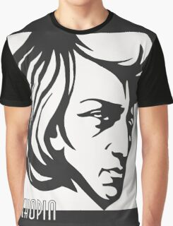 Chopin modern art deco style Graphic T-Shirt